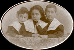 The Brahm Children circa 1889